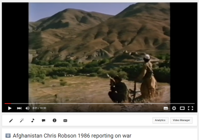 Afghanistan_Chris Robson with the Mujahideen_1986_reporting on the war with the Soviet Union