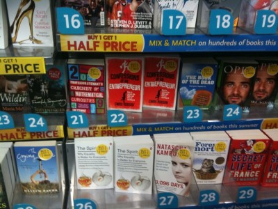 WHSmith photo of Confessions
